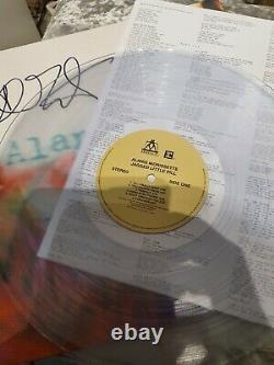 Alanis Morissette Jagged Little Pill. Signed Clear Vinyl Rare