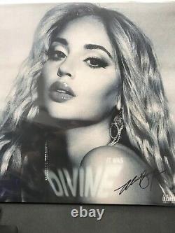 Alina Baraz It Was Divine Exclusive Limited Edition SIGNED Blue 2x Vinyl LP