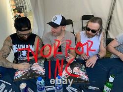 Bullet For My Valentine Autographed Signed Vinyl Album Exact Signing Pic Proof