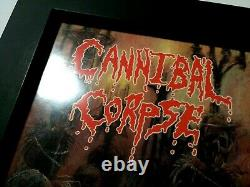 CANNIBAL CORPSE Tomb Of The Mutilated FULLY SIGNED by the ORIGINAL LINEUP