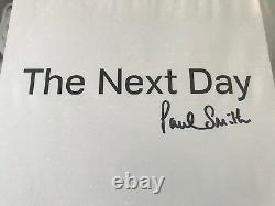 DAVID BOWIE The Next Day RED 2x LP Vinyl SIGNED by Paul Smith Only 80 copies