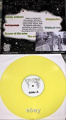 Edelweiss 205 signed band vinyl lp black magick ss mephistofeles peste noire