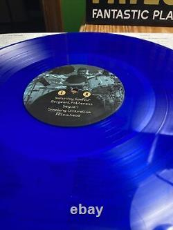 FAILURE BAND FANTASTIC PLANET LIVE 180g Double Red BLUE VINYL SIGNED Record Rare