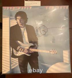 John Mayer Sob Rock SIGNED AUTOGRAPHED Vinyl Record LP Unopened