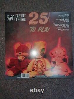 Korn Vinyl Record Autographed