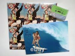 Lana Del Rey Norman Fcking Rockwell Ltd 2x Green Vinyl, Tape & Signed Card