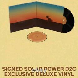 Lorde Solar Power SIGNED Gatefold Deluxe Vinyl LP AUTOGRAPHED plus 7 pic disc