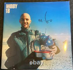 MOBY 18 -Double Vinyl LP SIGNED / AUTOGRAPHED SEALED RARE