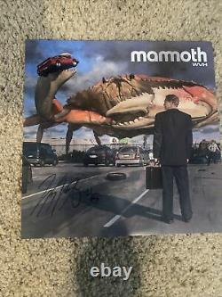 Mammoth WVH Wolfgang Van Halen Exclusive Clear Vinyl with Signed Insert IN HAND