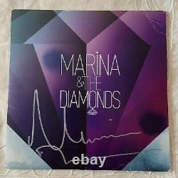 Marina and The Diamonds AUTOGRAPHED rare Obsessions Vinyl