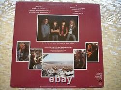 Metallica Master Of Puppets Autographed LP withCOA Elektra E1 60439