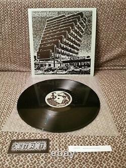 Molchat Doma Etazhi Vinyl LP DETRITI SIGNED/AUTOGRAPHED