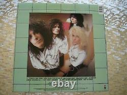 Mötley Crüe Dr. Feelgood Autographed LP withCOA Elektra E1 60829 motley crue