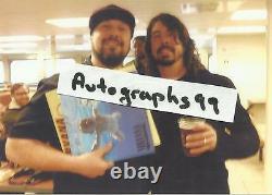 Nirvana Signed White Vinyl Lp By 5 Coa + Proof! Dave Grohl Krist Novoselic Foos