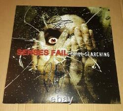 SENSES FAIL- Still Searching COKE BOTTLE Vinyl ed. 800 Signed By Buddy And Dan