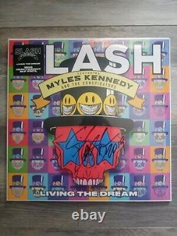Slash SIGNED Living The Dream VINYL LP Myles Kennedy Guns N Roses BRAND NEW 2019