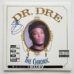 Snoop Dogg Signed Dr Dre -The Chronic Vinyl Record Hip Hop Rap LEGEND RAD