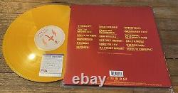 THE WEEKND SIGNED STARBOY ALBUM VINYL 2LP With PSA COA