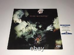 The Cure Robert Smith Rare Signed Disintegration Reissue Vinyl LP Record BAS COA