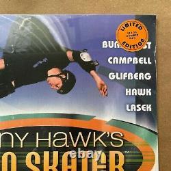 Tony Hawk's Pro Skater THPS Signed Bucky Lasek Vinyl Record Red LP Playstation