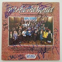 We Are The World Signed Vinyl Record Bruce Springsteen, Billy Joel and 13 MORE