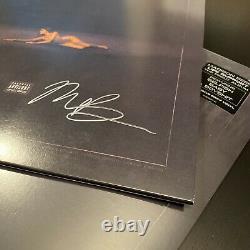 1 Sur 100! Signé Madison Beer Life Support Gray Vinyl Album Vendu! Dans La Main
