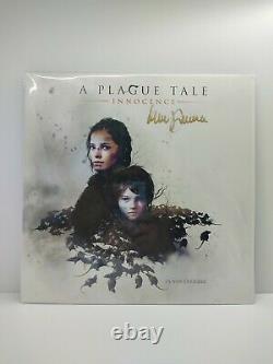 A Plague Tale Innocence 2 Lp Clear With Black Smoke Signed Vinyl New Jamais Ouvert