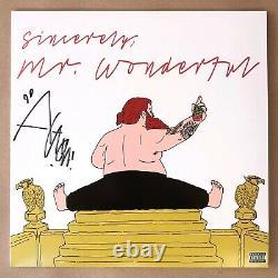 Action Bronson Signed Mr Wonderful Black Vinyl Record Lp Autograph Hip Hop Avec CD