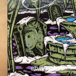 Afi A Signé L'art De Noyer Grey Marble Vinyl Record Lp First Press Autograph