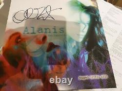 Alanis Morissette Jagged Little Pill. Vinyle Clair Rare Signé