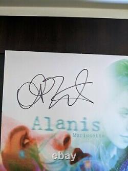 Alanis Morissette Signé/autographié Jagged Little Pill Effacer Vinyle Record Lp