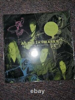 Alice In Chains 7vinyl Record Autographié
