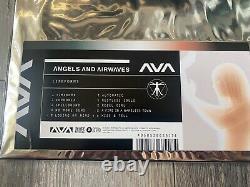Anges Et Ondes D'air Signé Vinyl Lp Formes De Vie Bone Black Splatter Autographed