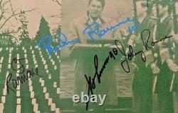 Autographié / Signé Ramones Bonzo Goes To Bitburg Vinyl Single Uk Import