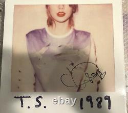 Autographié Taylor Swift 1989 Signed Lp Record Vinyl