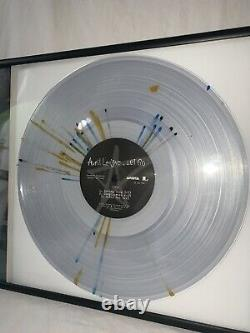 Avril Lavigne Signé Autographied Framed Urban Outfitters Exlusive Vinyl Psa Coa