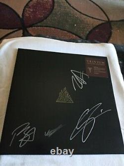 Bande De Trivium Vinyl Signée