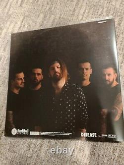 Bérotooth Disease Fully Signed Album D'enregistrement En Vinyle Coloré
