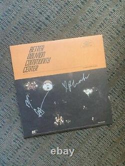 Better Oblivion Community Center Orange Vinyl Signé Phoebe Bridgers Conor