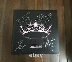 Blackpink All Member The Album Autographied Lp Vinyl Record