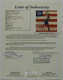 Bruce Springsteen Jsa Signed Autograph Album Record Vinyl Born In The USA