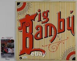 Cheech Et Chong Ont Signé L'album D'enregistrement Autographe Jsa Vinyl Big Bambu