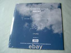 Courteeners Concrete Love Nouveau Lp En Vinyle Blanc Ue 2014 Scellé Avec Insert Signé