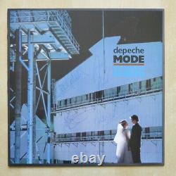 Depeche Mode Some Great Reward Uk Vinyl Lp Avec Manche Intérieure Lyrique Entièrement Signé