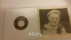 Dolly Parton's 1957 Historic 1er Enregistrement Puppy Love Age 11 Withreal Autograph