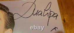 Dua Lipa Signé Auto Mint Disque En Vinyle Seled Lp Avec Receipt