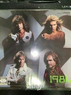 Eddie Van Halen Van Halen Signé Autographe 1984 Album Vinyl Record Lp Jsa