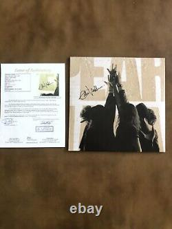 Eddie Vedder A Signé Autographied Vinyl Album Pearl Jam Withjsa Full Lettre 10 Rare