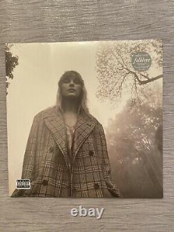 Ensemble Complet Oop 8 USA Marbré Taylor Swift Folklore Vinyls & Signé Cd, Rare