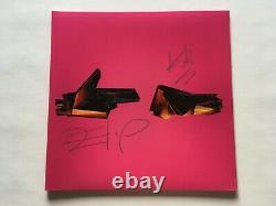 Exécutez Les Bijoux 4 Clear Avec Magenta Colored Vinyl 2xlp + Manche Autographiée